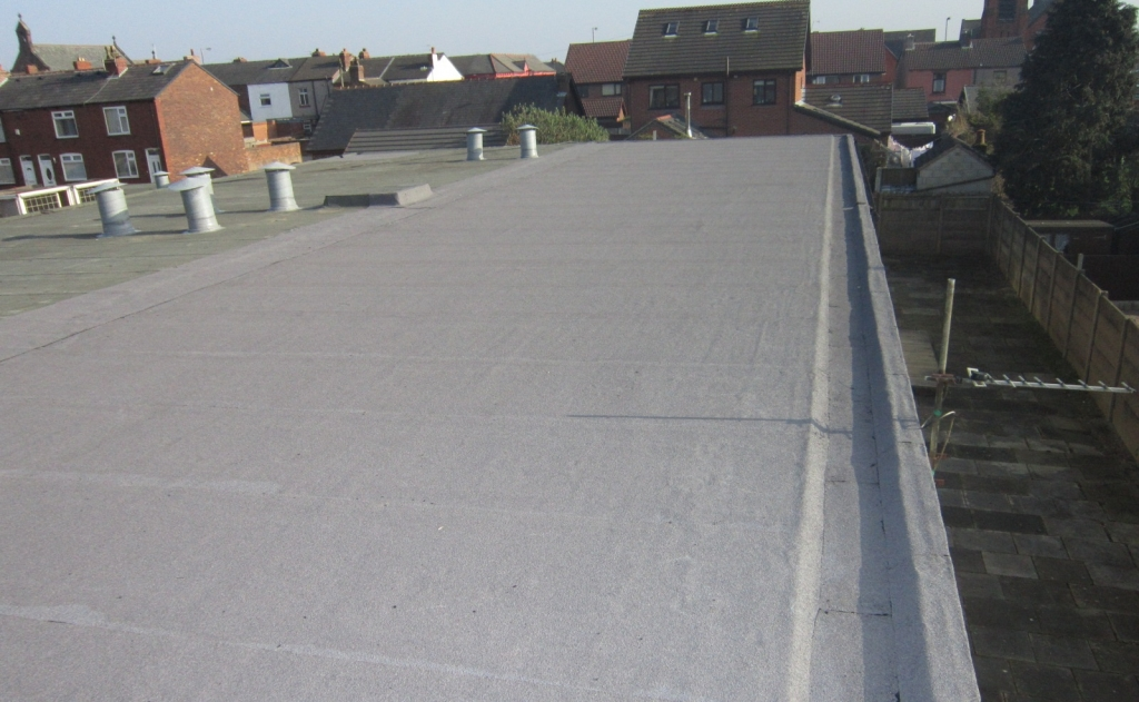 Flat Roofing Project in Liverpool